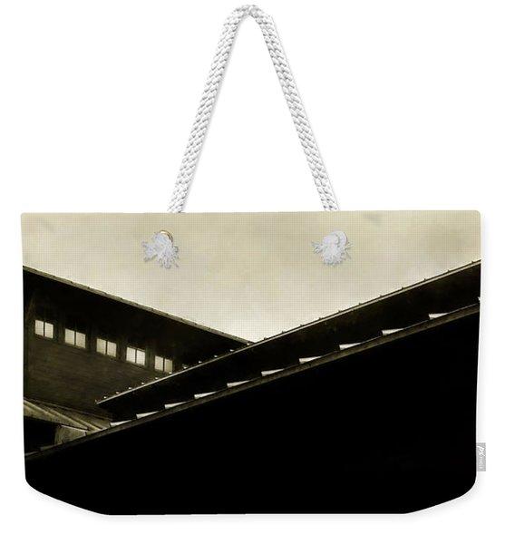 Prairie Lines Weekender Tote Bag