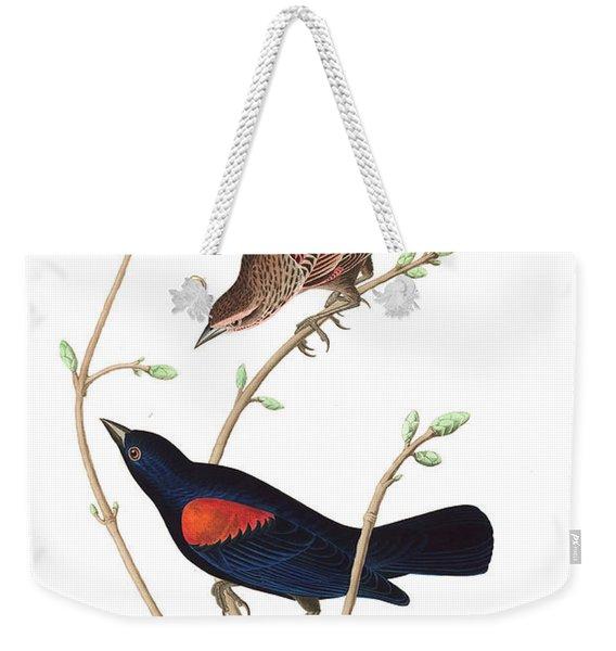 Prairie Starling Weekender Tote Bag
