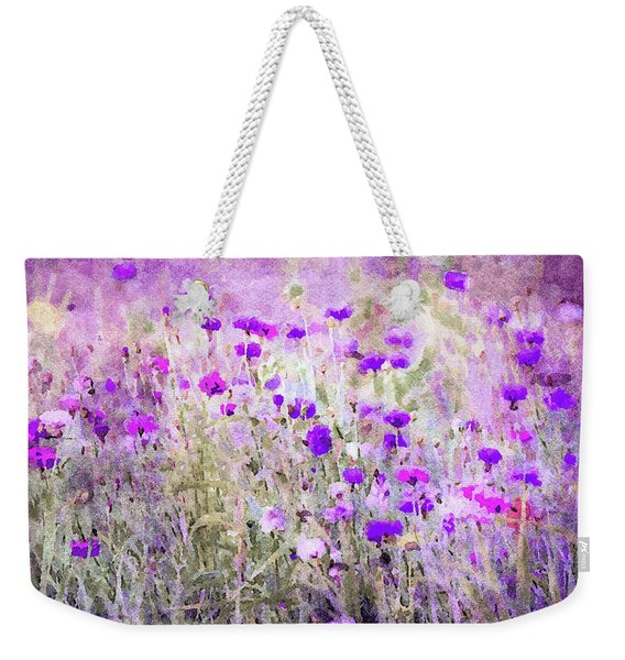 Prairie Wildflowers Weekender Tote Bag