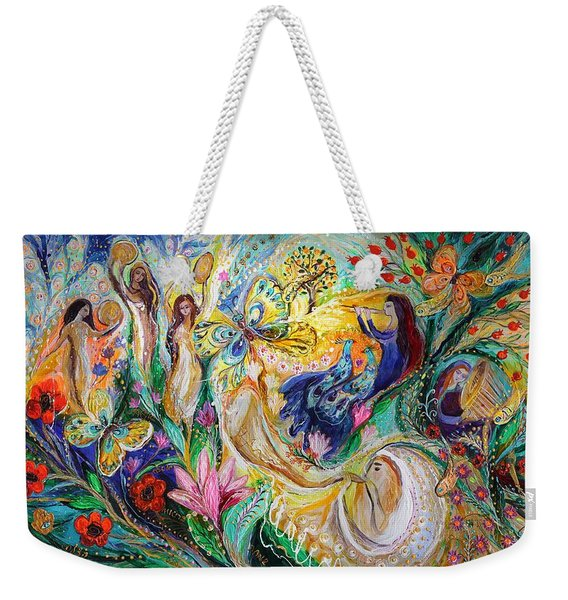 Praise Him With The Timbrel And Dance Weekender Tote Bag