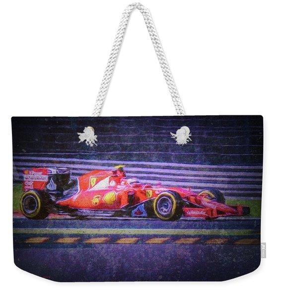 Prancing Horse Vettel Weekender Tote Bag