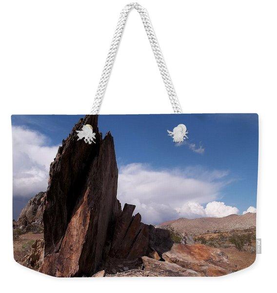 Prayer Rocks - Route 66 Weekender Tote Bag