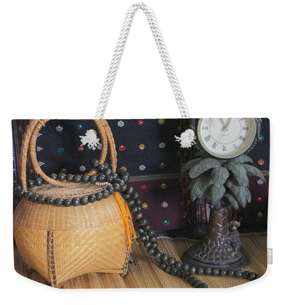 Prayer Time Weekender Tote Bag