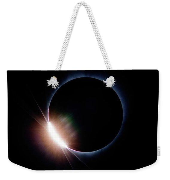 Pre Daimond Ring Weekender Tote Bag