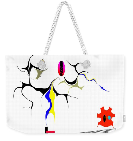 Precarious Study No.7 Weekender Tote Bag