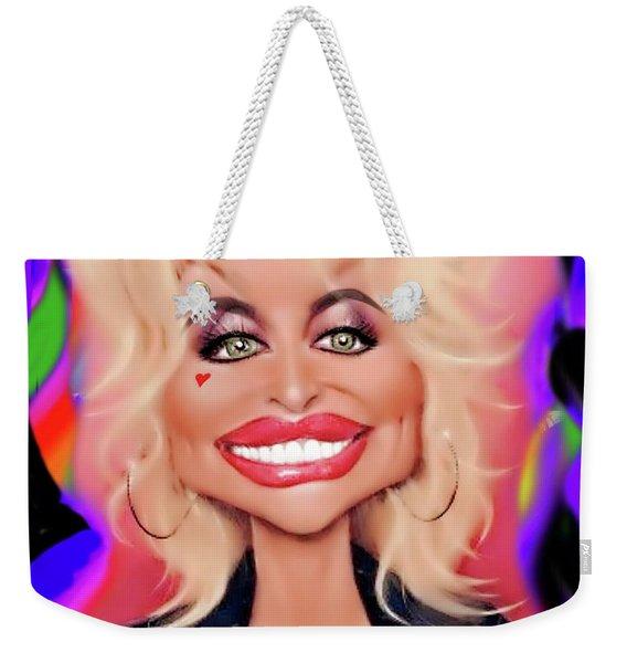Precious Dolly Weekender Tote Bag