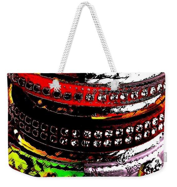 Precious Jewels For The Best Friend Of Man Weekender Tote Bag