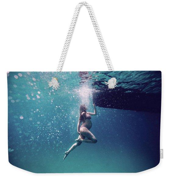 Pregnancy Dance Weekender Tote Bag