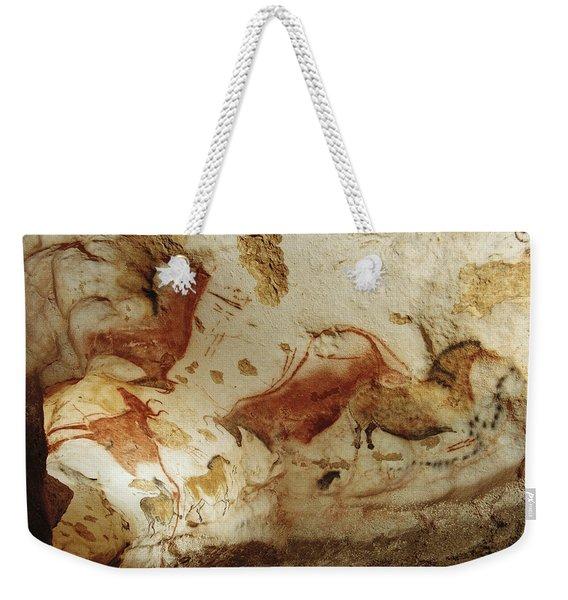 Prehistoric Artists Painted Robust Weekender Tote Bag
