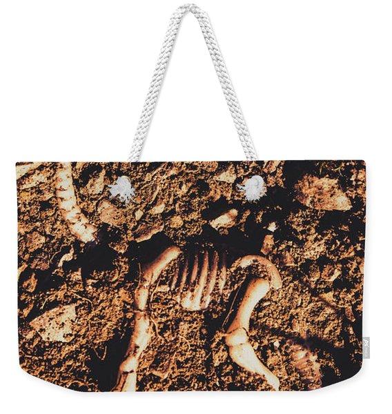 Prehistoric Diplodocus Bones Weekender Tote Bag