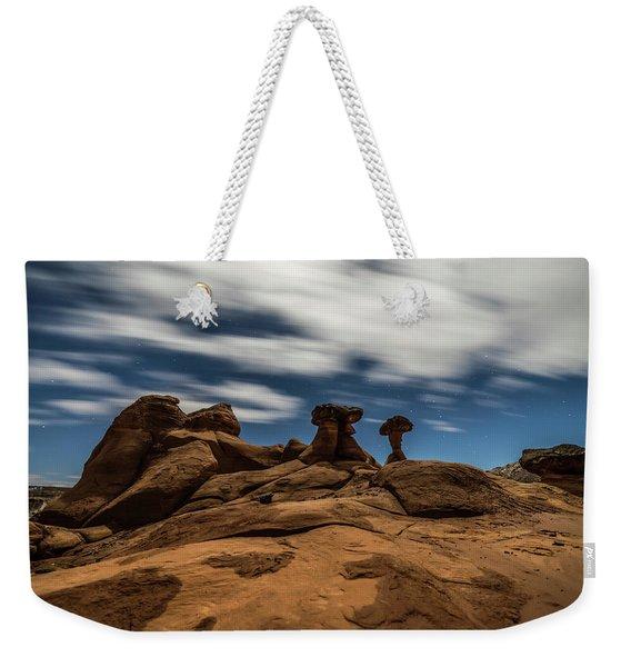 Prehistoric Formations Weekender Tote Bag