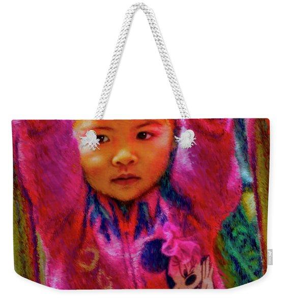 Preschool Girl Monkey Bars Weekender Tote Bag