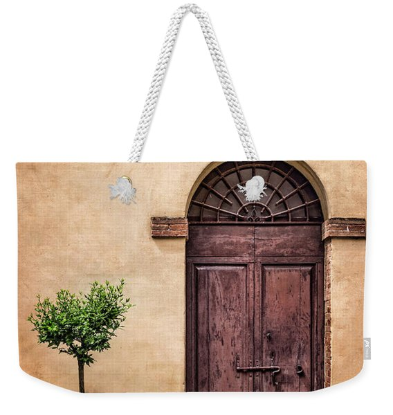 Presently In The Past Weekender Tote Bag