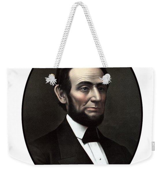 President Abraham Lincoln  Weekender Tote Bag
