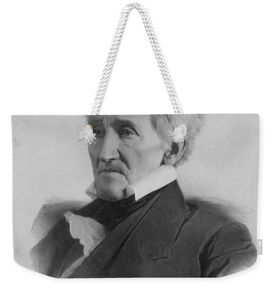 President Andrew Jackson - Three Weekender Tote Bag