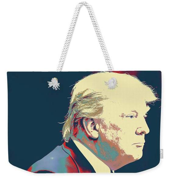 President Donald Trump Weekender Tote Bag