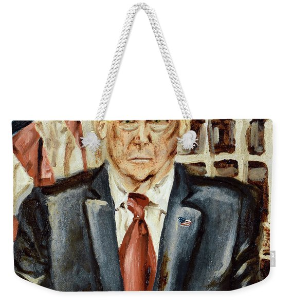 President Donald Trump Weekender Tote Bag