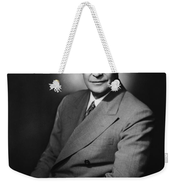 President Dwight Eisenhower - Three Weekender Tote Bag