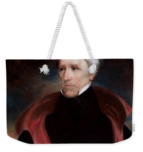 President Jackson Weekender Tote Bag