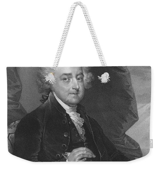 President John Adams - One Weekender Tote Bag