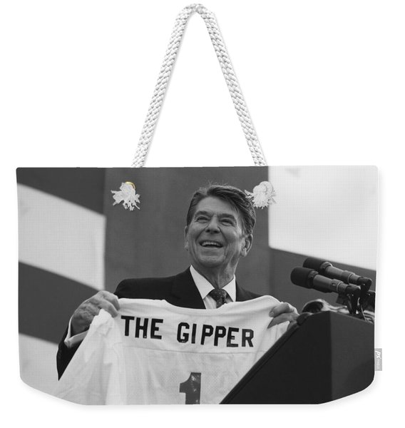 President Ronald Reagan - The Gipper Weekender Tote Bag
