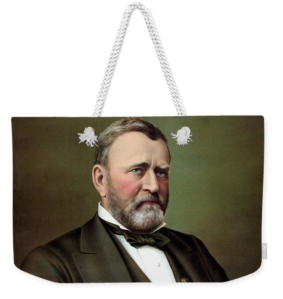 President Ulysses S Grant Portrait Weekender Tote Bag
