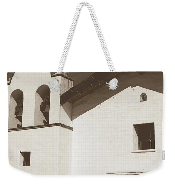 Presidio Chapel- Art By Linda Woods Weekender Tote Bag