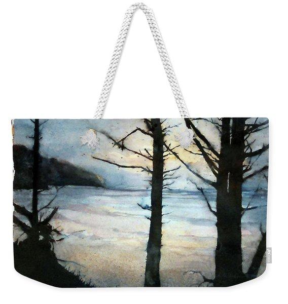 Presque Isle Dawn Weekender Tote Bag