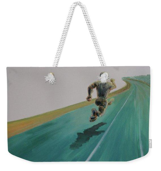 Press On Weekender Tote Bag