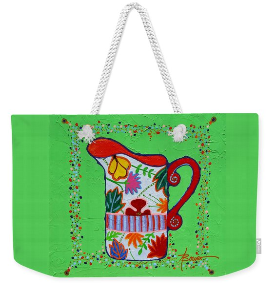 Pretty As A Pitcher Weekender Tote Bag