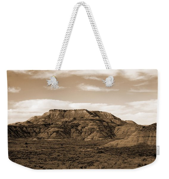 Weekender Tote Bag featuring the photograph Pretty Butte by Cris Fulton
