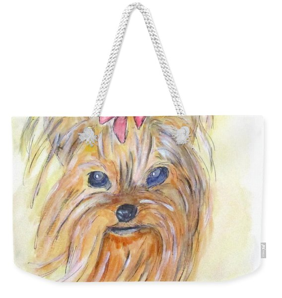 Pretty Girl Weekender Tote Bag
