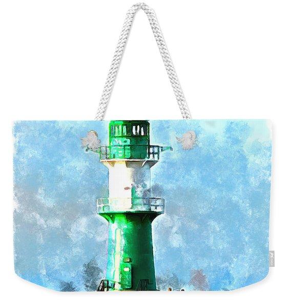 Beautiful Lighthouse  Weekender Tote Bag