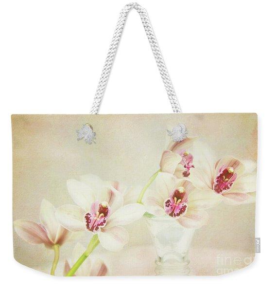 Pretty Orchids Weekender Tote Bag