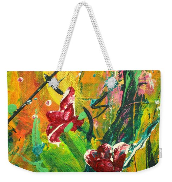 Pretty Posies Weekender Tote Bag