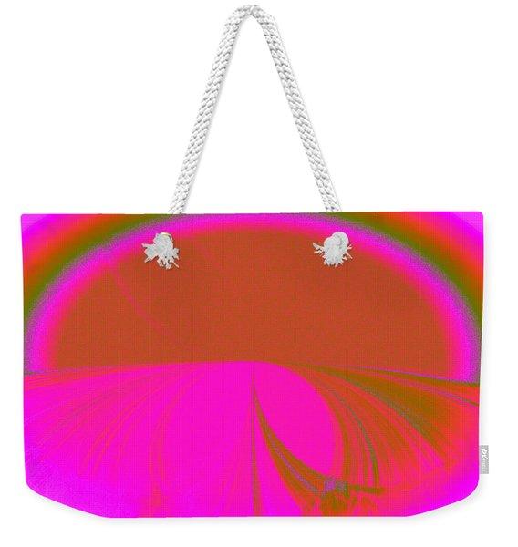 Pretty Road Weekender Tote Bag
