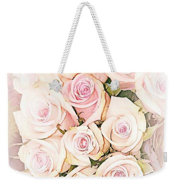 Pretty Roses Weekender Tote Bag