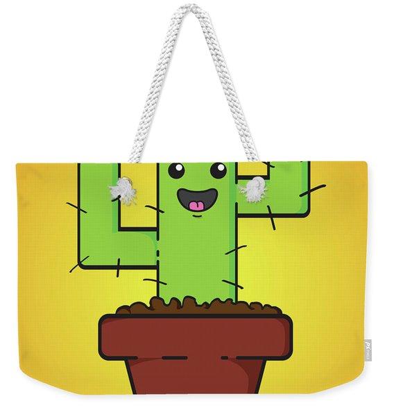 Prickle Weekender Tote Bag