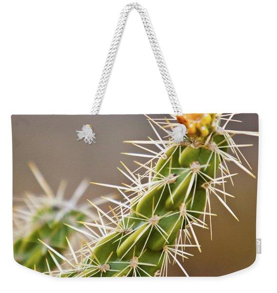 Prickly Branch Weekender Tote Bag