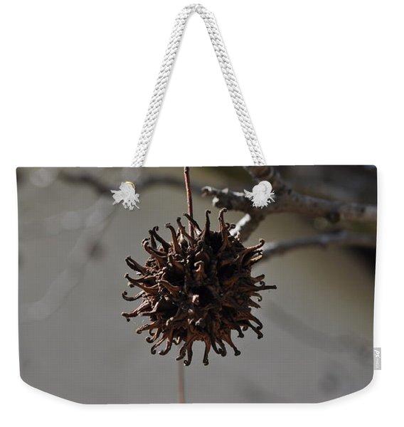 Prickly Liquidamber Pod Weekender Tote Bag