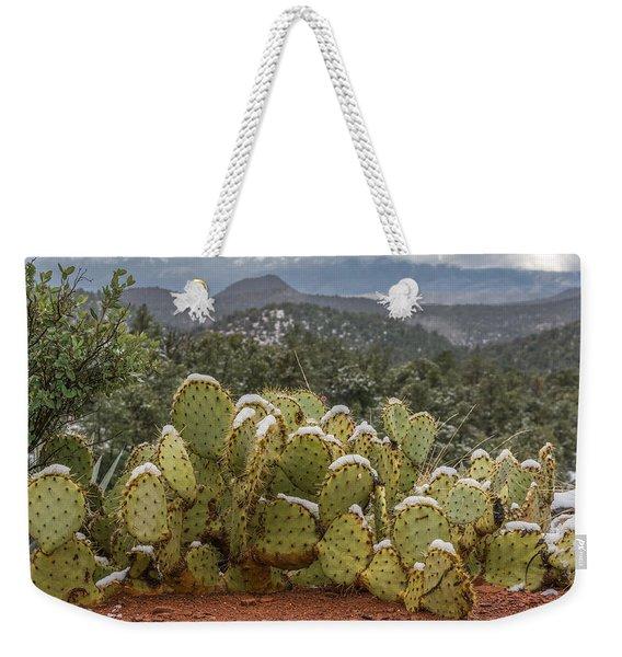 Cactus Country Weekender Tote Bag