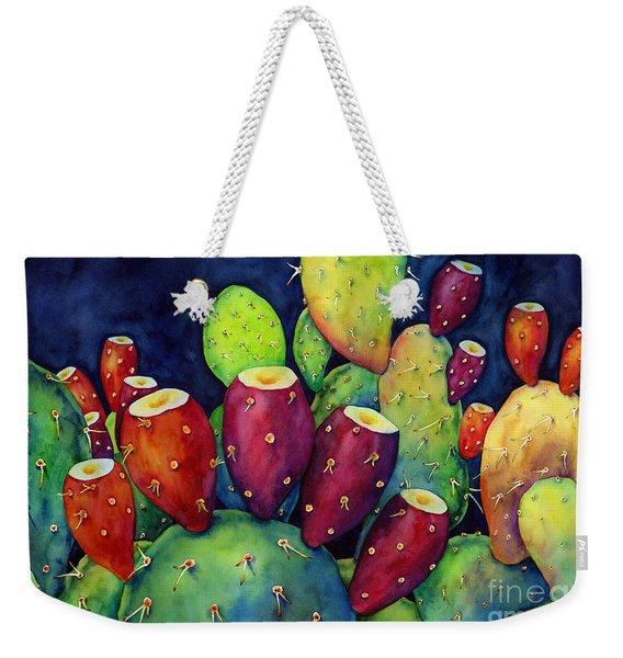 Prickly Pear Weekender Tote Bag