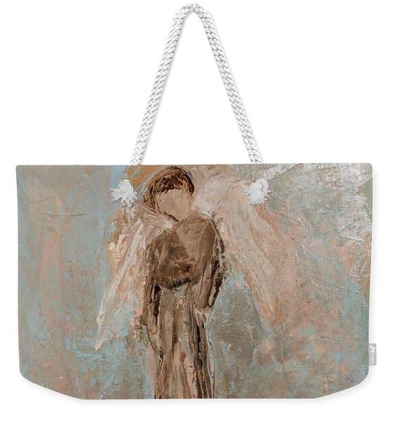 Priest Angel Weekender Tote Bag