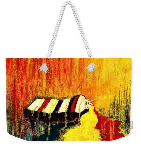 Primary Colors  Weekender Tote Bag