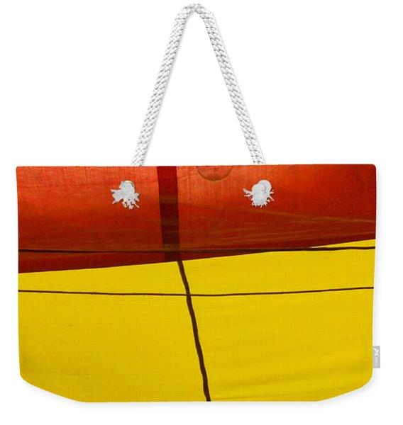 Primary Light Weekender Tote Bag