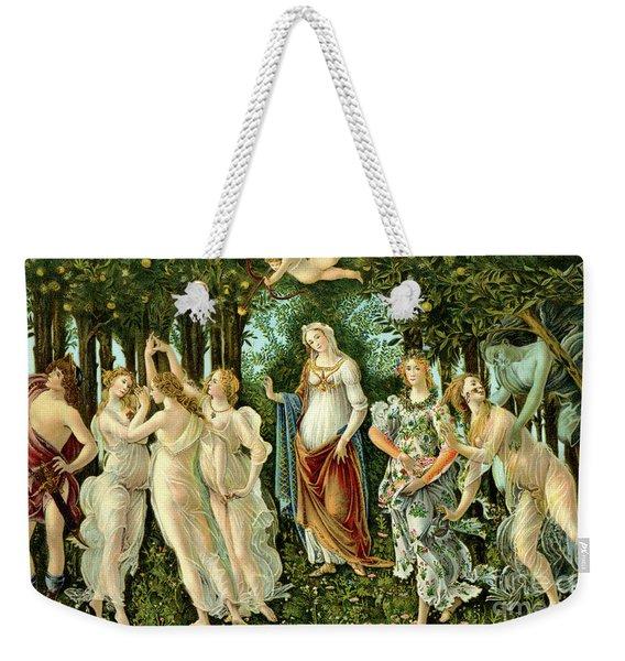 Primavera Or Spring Weekender Tote Bag
