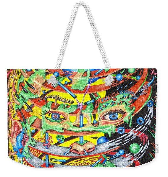 Primordial Inception Of Life At Daybreak Weekender Tote Bag