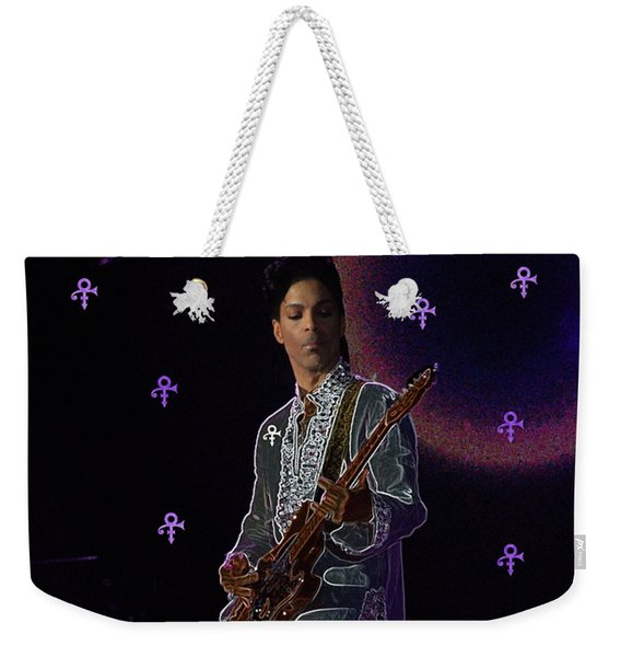 Prince At Coachella Weekender Tote Bag