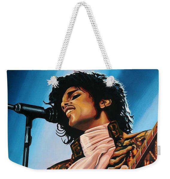 Prince Painting Weekender Tote Bag
