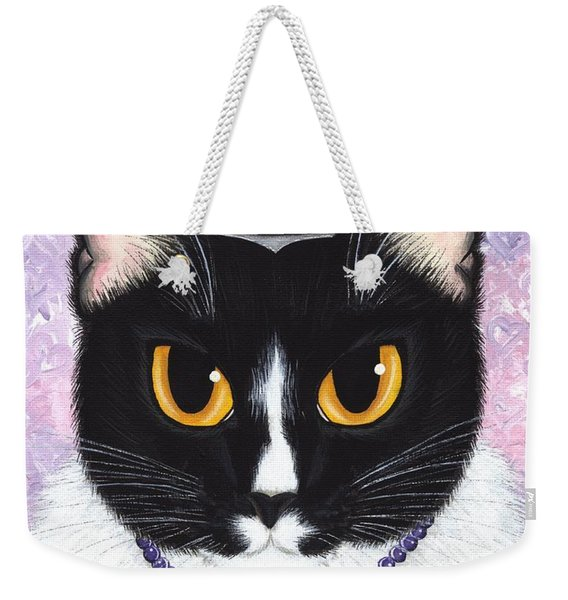 Princess Fiona -tuxedo Cat Weekender Tote Bag